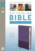 Holy Bible: New International Version Purple / Plum Italian Duo-Tone Thinline, Lay-Flat, Thinline (Paperback)