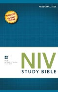 NIV Study Bible: New International Version, Personal Size, with Full Color Photos, Charts & Maps (Paperback)