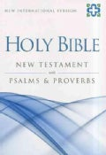 Holy Bible: New Testament with Psalms & Proverbs: New International Version (Paperback)