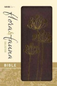 Holy Bible: New International Version, Chocolate / Copper Flowers, Italian Duo-Tone Flora and Fauna Collection (Paperback)