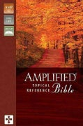 The Amplified Topical Reference Bible: Tan/burgundy, Italian Duo-tone (Paperback)