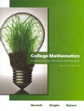 College Mathematics for Business, Economics, Life Sciences &amp; Social Sciences