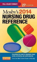 Mosby&#39;s 2014 Nursing Drug Reference (Paperback)