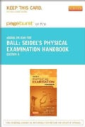 Seidel's Physical Examination Handbook Pageburst E-book on Kno Retail Access Card (Other merchandise)