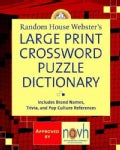 Random House Webster's Large Print Crossword Puzzle Dictionary (Paperback)