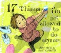 17 Things I&#39;m Not Allowed to Do Anymore (Hardcover)