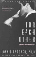 For Each Other: Sharing Sexual Intimacy (Paperback)