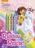 Rainbow Rescue! Color Plus Chunky Crayons (Paperback)
