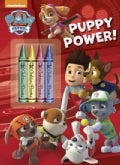 Puppy Power! Color Plus Chunky Crayons (Paperback)