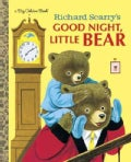 Richard Scarry's Good Night, Little Bear Big Golden Book (Hardcover)