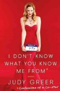 I Don't Know What You Know Me from: Confessions of a Co-star (Hardcover)