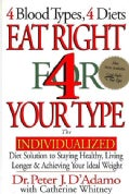 Eat Right for Your Type: The Individualized Diet Solution to Staying Healthy, Living Longer &amp; Achieving Your Idea... (Hardcover)