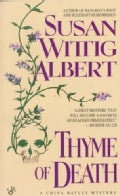 Thyme of Death: A China Bayles Mystery (Paperback)