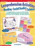 Comprehension Activities for Reading in Social Studies and Science: Grades 4-8 (Paperback)