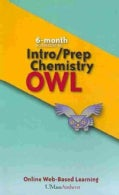 Intro/Prep Chemistry Owl 6-Months Access Code Card (Other merchandise)