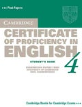 Cambridge Certificate of Proficiency in English 4 Book (Paperback)