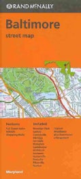 Rand McNally Balitmore Street Map (Sheet map, folded)