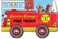 Curious George's Fire Truck (Board book)