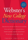Webster's New College Dictionary (Hardcover)