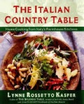 The Italian Country Table: Home Cooking from Italy's Farmhouse Kitchens (Hardcover)