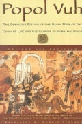 Popol Vuh: The Mayan Book of the Dawn of Life (Paperback)