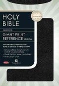 Holy Bible: New King James Version Personal Size Giant Print Reference, Black Imitation Leather (Paperback)