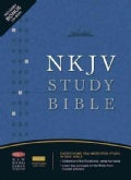 The NKJV Study Bible: New King James Version, Black, Bonded Leather, Study Bible