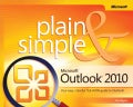 Microsoft Outlook Plain &amp; Simple 2010 (Paperback)