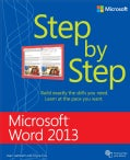 Microsoft Word 2013 Step by Step (Paperback)