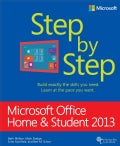 Microsoft Office Home and Student 2013 Step by Step (Paperback)