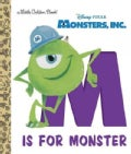 M Is for Monster Little Golden Book (Hardcover)