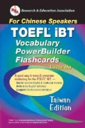 TOEFL iBT Vocabulary PowerBuilder Flashcards: Taiwan Edition (Paperback)