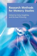 Research Methods for Memory Studies (Hardcover)