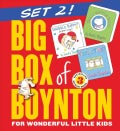 Big Box of Boynton Set 2!: Snuggle Puppy! Belly Button Book! Tickle Time! (Board book)