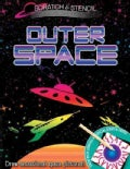 Scratch & Stencil - Outer Space (Paperback)