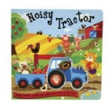 Noisy Tractor: Press the Wheel for Some Noisy Fun! (Board book)