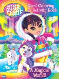 Lisa Frank Giant Coloring - A Magical World! (Paperback)