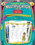 Homework Helper Multiplication Facts, Grade 3 (Paperback)