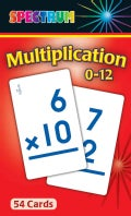 Spectrum Multiplication 0-12 (Cards)