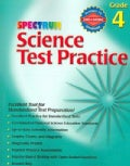 Spectrum Science Test Practice: Grade 4 (Paperback)