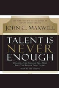 Talent Is Never Enough (CD-Audio)