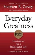 Everyday Greatness: Inspiration for a Meaningful Life (Paperback)