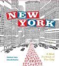 New York: A Mod Portrait of The City (Hardcover)