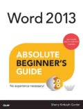 Word 2013 Absolute Beginner's Guide (Paperback)