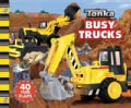 Tonka Busy Trucks: A Lift-the-Flap Book (Board book)