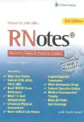 RNotes: Nurse's Clinical Pocket Guide (Spiral bound)