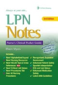 LPN Notes: Nurse's Clinical Pocket Guide (Spiral bound)