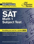 Princeton Review Cracking the Sat Math 1 Subject Test (Paperback)