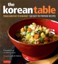 The Korean Table: From Barbecue to Bibimbap - 100 Easy-To-Prepare Recipes (Hardcover)