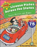 License Plates Across The States: Travel Puzzles and Games (Paperback)